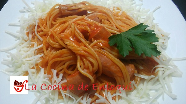 06.03.16 Espagueti con Salchichas (2)
