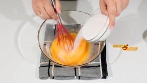 flan de huevo y vainilla
