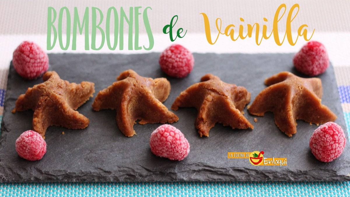 Bombones o caramelos de vainilla