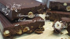 Turrón de Chocolate y Avellanas