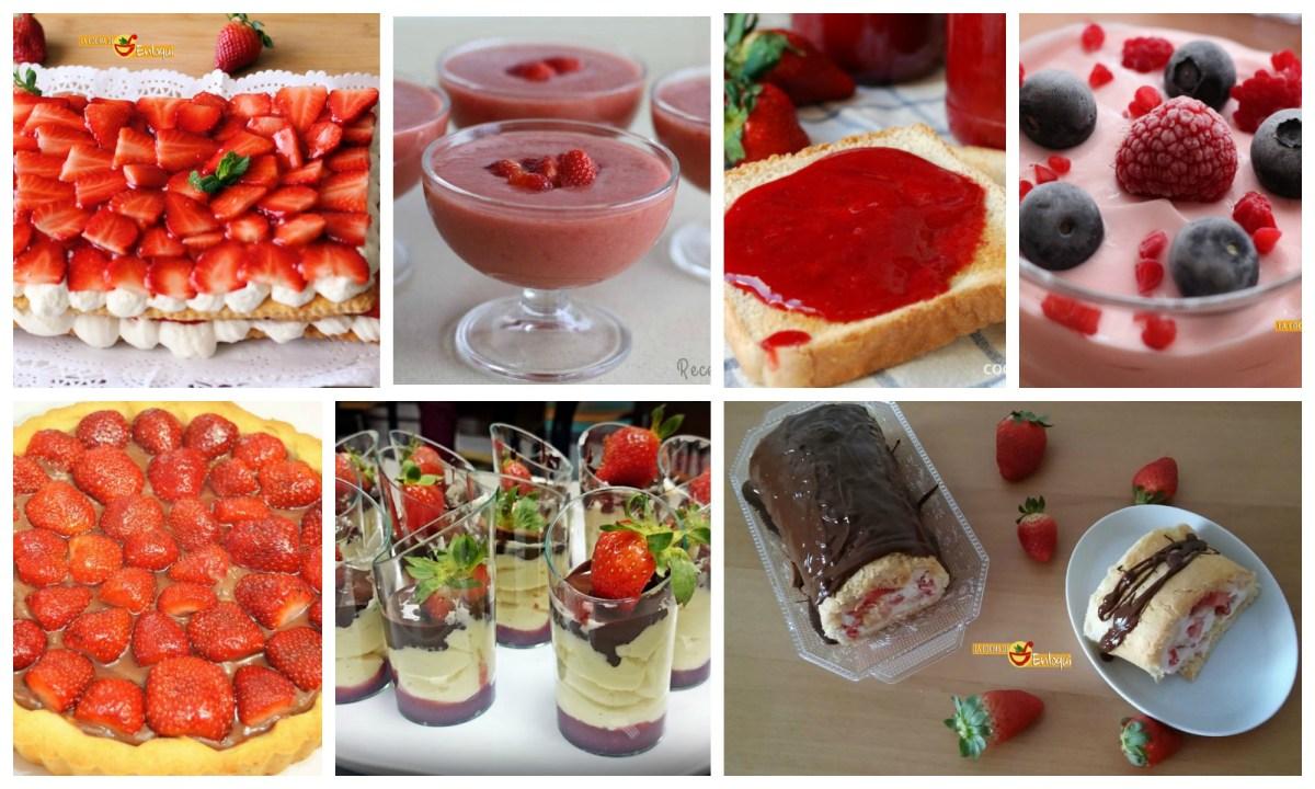7 recetas caseras con fresas