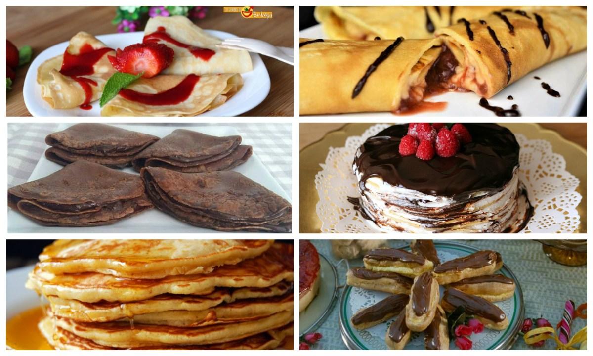 Crepes, tortitas y otras delicias