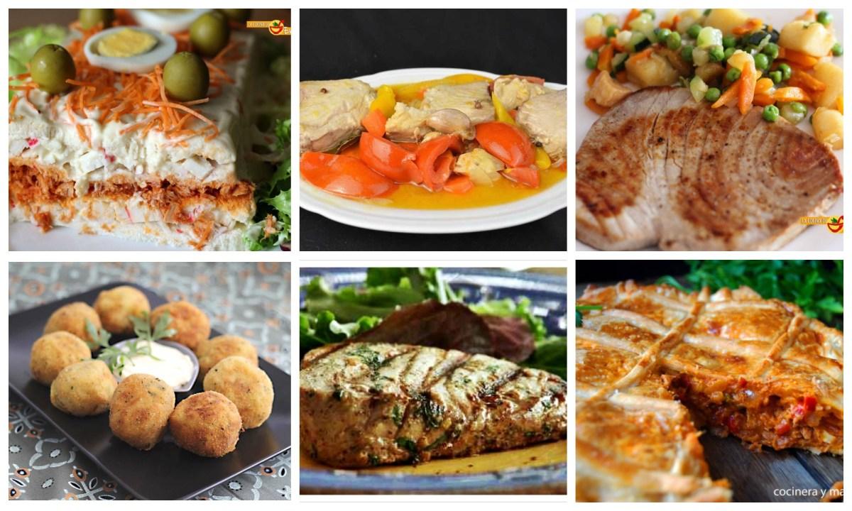 Las mejores recetas con atún