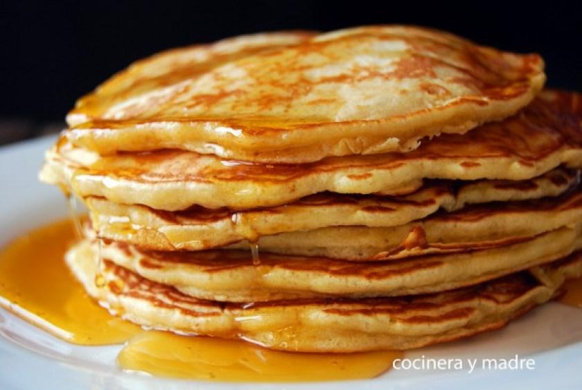 Tortitas americanas o pancakes caseros