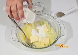 Pulpo a la plancha con queso