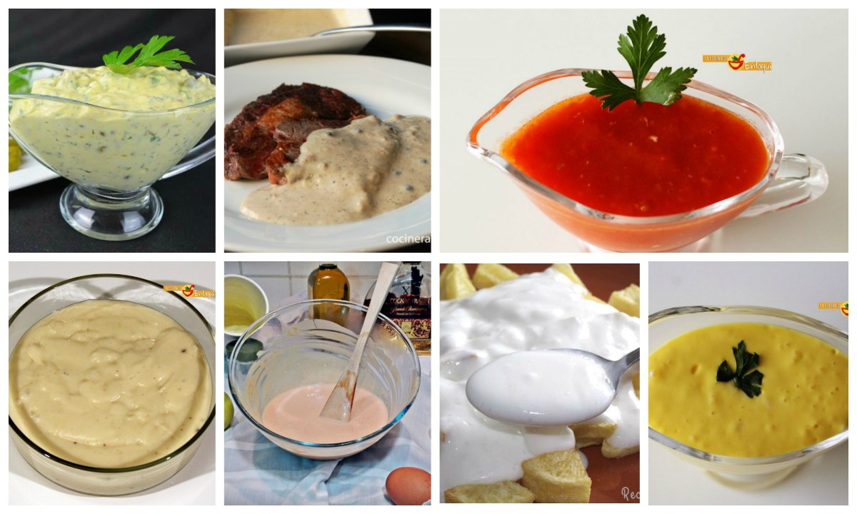 salsas básicas