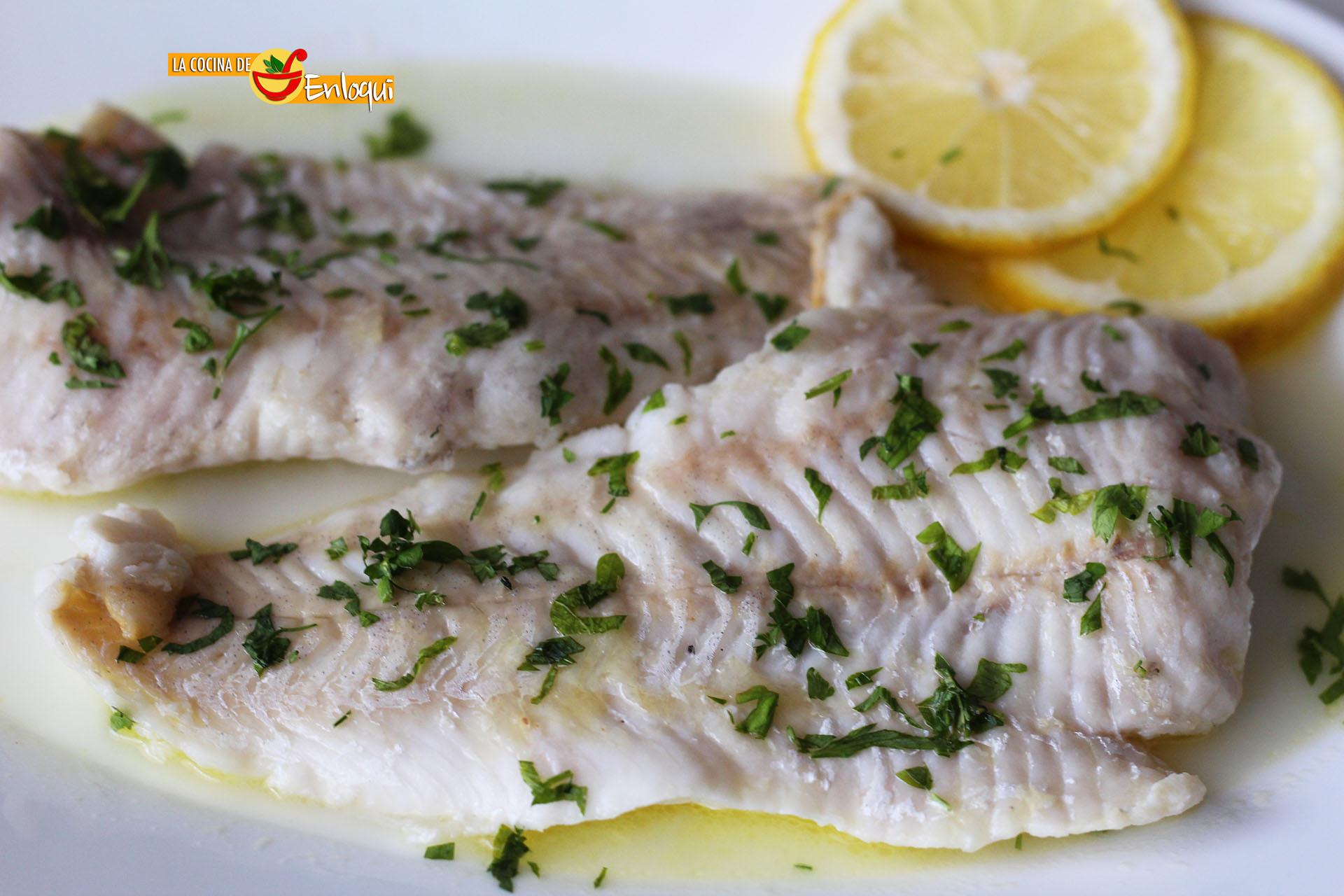 Blanda receta pescado cocido dieta