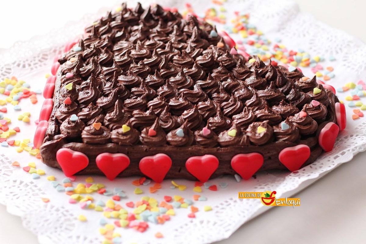 Tarta de Baileys casero para San Valentín