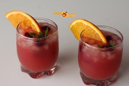 Ponche de frutas sin alcohol