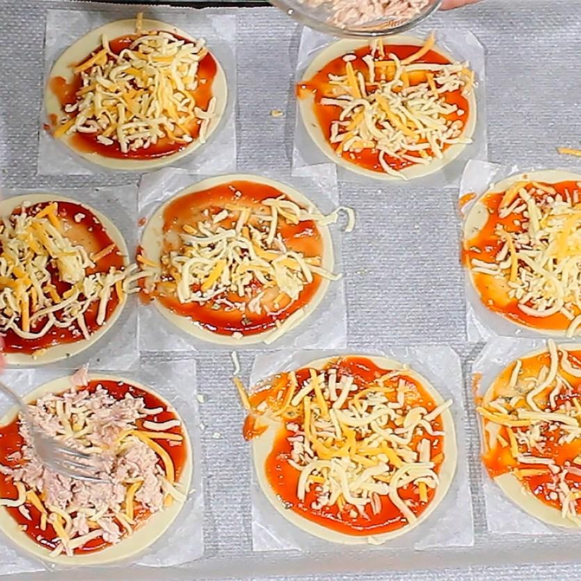 Mini Pizzas En Obleas De Empanadillas La Cocina De Enloqui
