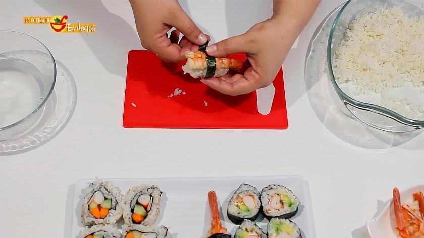 Sushi casero muy fácil