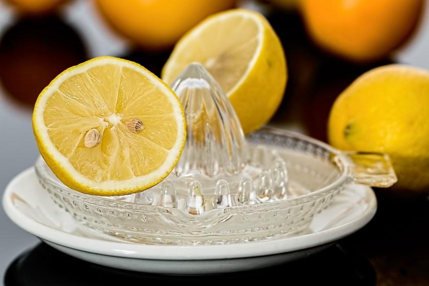 zumo de limón