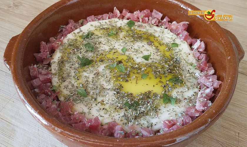 Provolone con jamón