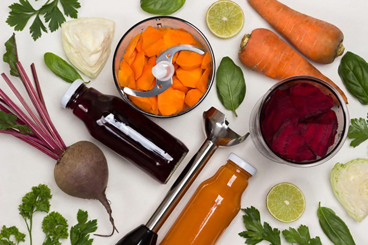 3 formas de triturar comida que no te quitarán tiempo