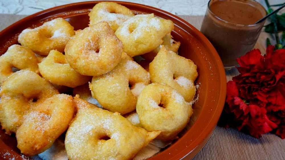 Buñuelos de Mallorca o de patata