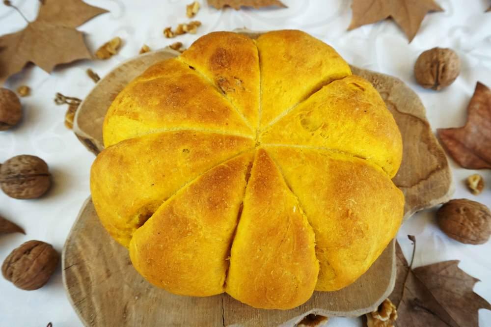 pan de calabaza muy tierno y esponjoso