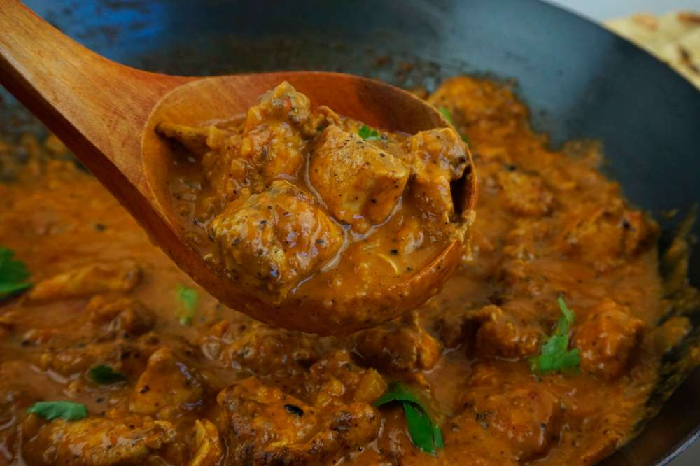 pollo al curry tikka masala