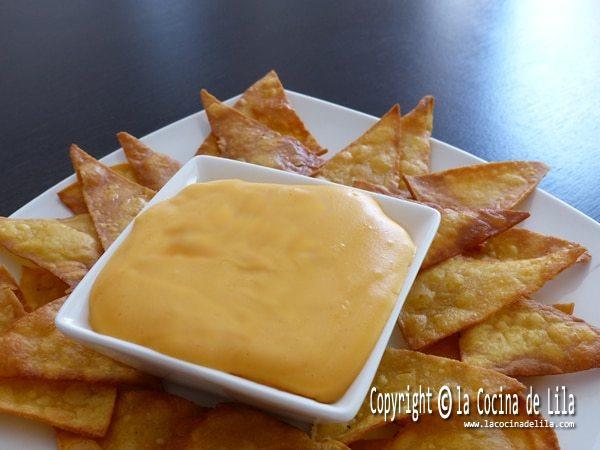 Salsa de queso cheddar  La cocina de Lila