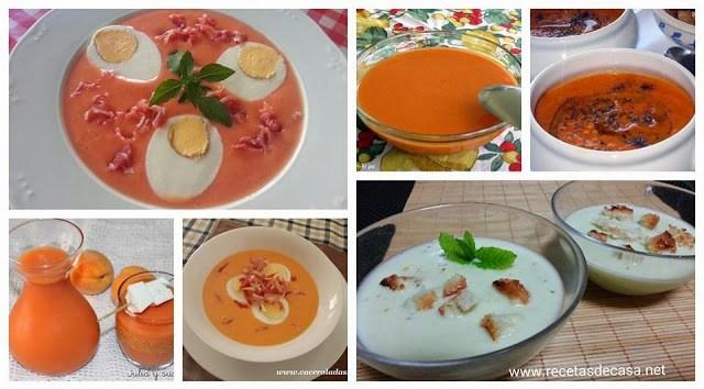 recetas de gazpachos cocina facil