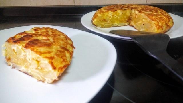 tortilla de patatas, tortilla de papas