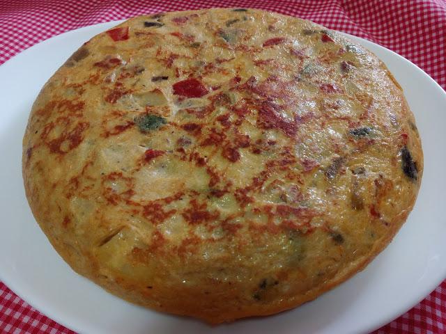Tortilla paisana cocina fácil