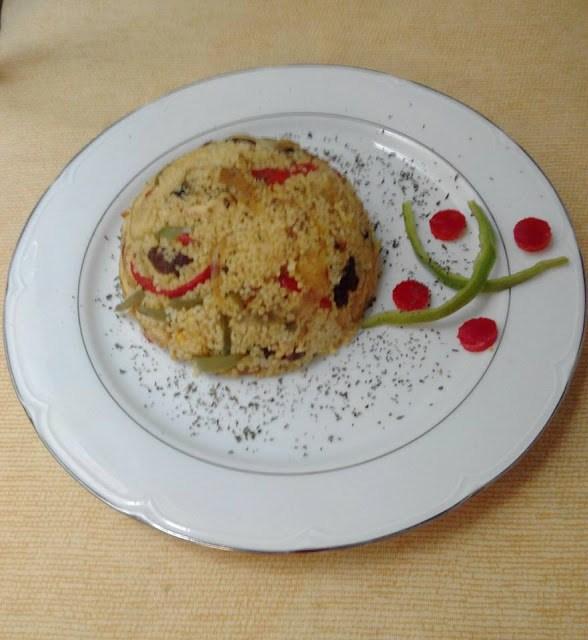 Salteado de cuscus cocina facil