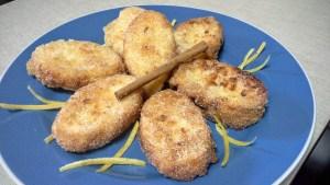 torrijas al limon con leche condensada