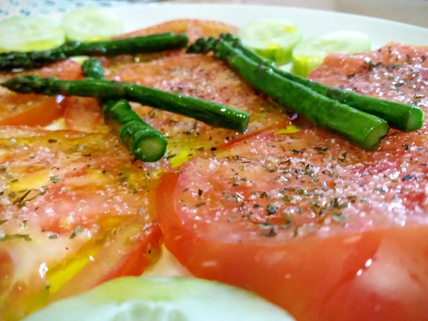 tomates aliñaos
