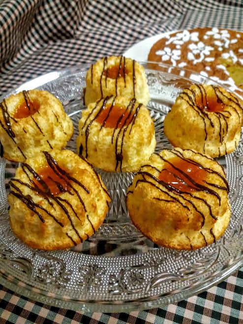 bizcochitos con mermelada
