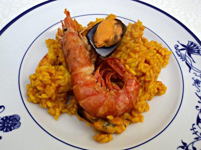 menú semanal 47 arroz con langostinos y mejillones