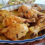 Muslitos de pollo asados