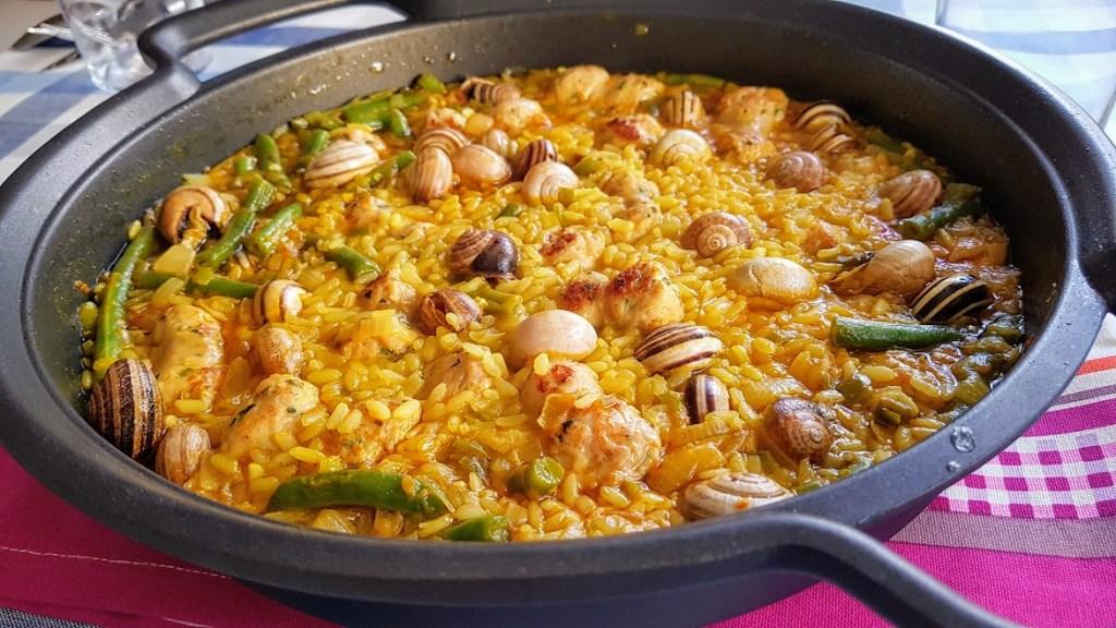 Arroz con butifarra y caracoles - La Cocina de Pedro y Yolanda