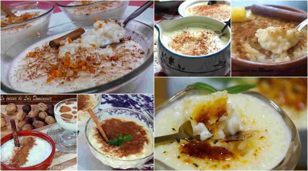 las mejores recetas de arroz con leche