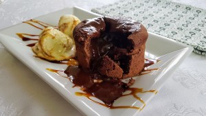 coulant de chocolate