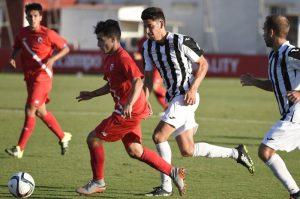 Mérida A.D. 0- Sevilla Atletico 0: Fuertes en defensa