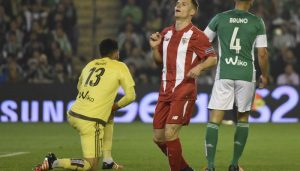 Las notas del partido. Real Betis Balompié 0 – 0 Sevilla FC