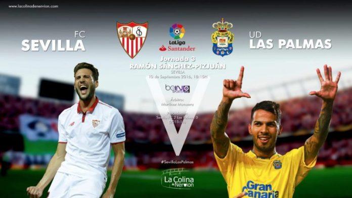 Imagen para la previa del partido entre Sevilla y Las Palmas