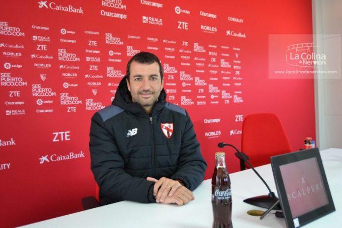 Diego Martínez, posa para la entrevista exclusiva con La Colina de Nervión  Imagen: Álvaro Fuentes
