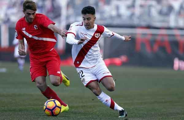 Un gol tardío condena al filial al empate en Vallecas