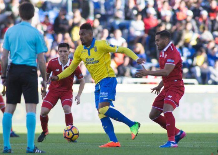 Las Palmas, tercer equipo que arrebata la posesión al Sevilla