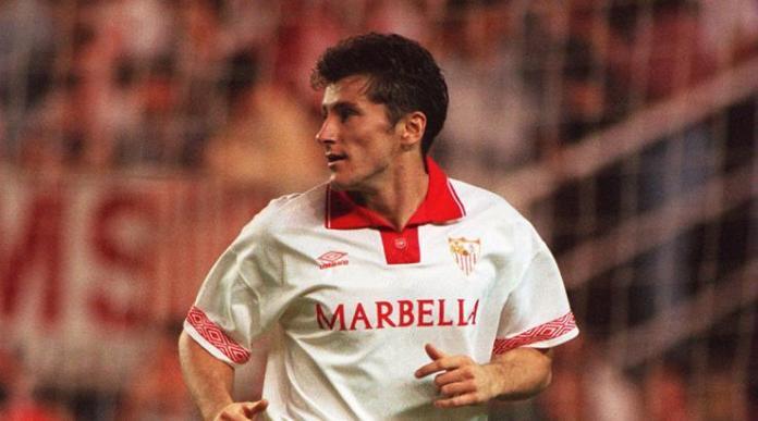 Davor Suker, uno de los mejores delanteros y uno de los integrantes de nuestro once histórico del Sevilla FC |Imagen: Sevilla FC