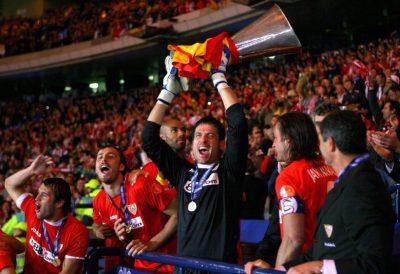 Los diez mejores porteros de la historia del Sevilla
