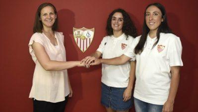 El Sevilla Femenino renueva a Méndez y a Andrea