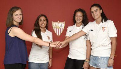 El Sevilla FC Femenino cierra tres renovaciones más