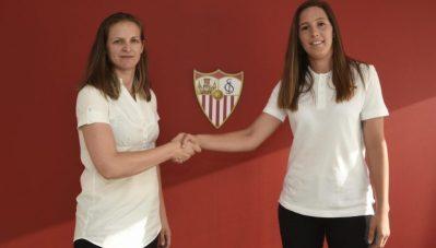 Jenni Morilla, renueva con el Sevilla Femenino