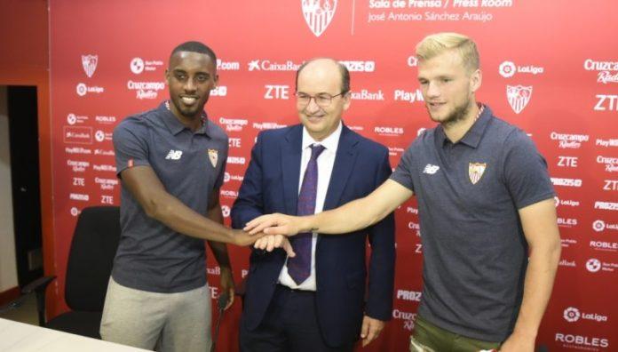 Geis: «Estoy en el Sevilla para quedarme»