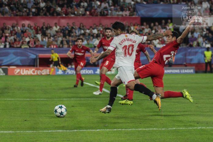 Los números que llevan al Sevilla a octavos de Champions