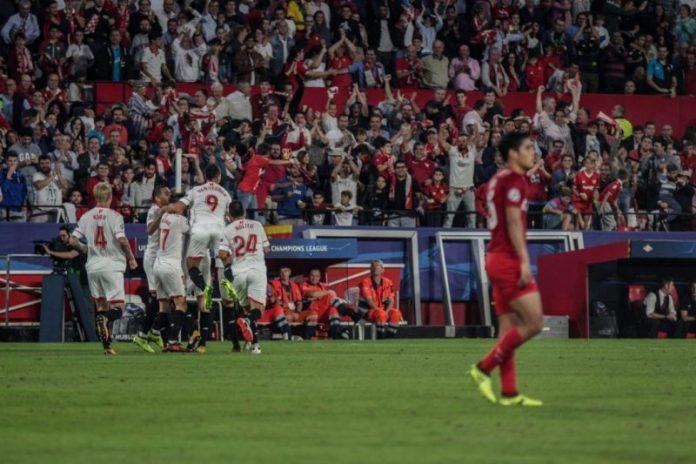 El Sevilla destruye el telón de acero ruso y encarrila el pase a octavos