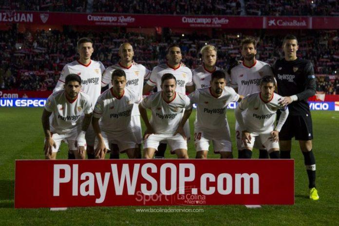 El once del Sevilla en el Bernabéu