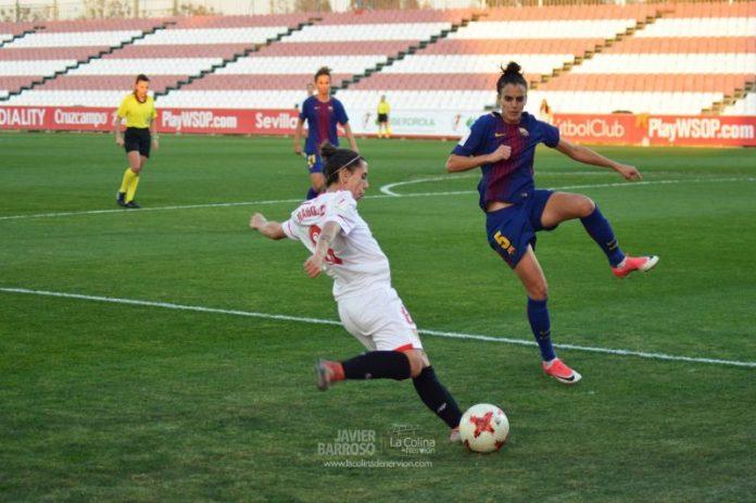 Nagore Calderón renueva otra temporada con el Sevilla Femenino